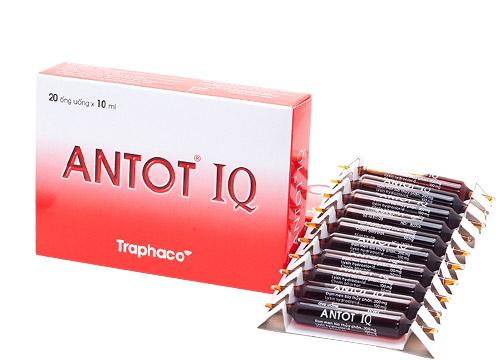 Giúp trẻ ăn ngon, tăng chiều cao Antot IQ hộp 20 ống x 10ml