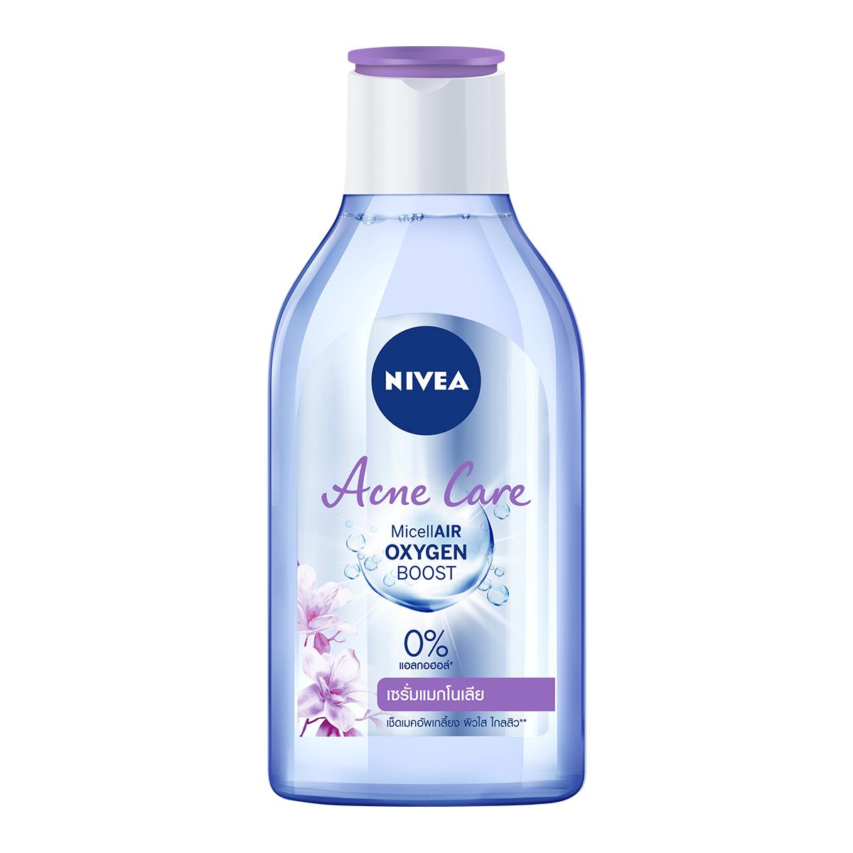 Nước tẩy trang NIVEA Acne Care Micellar Water chai 400 ml