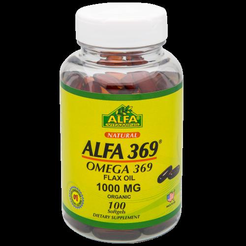 Viên uống hỗ trợ não, tăng cường thị lực ALFA 369 hộp 1 lọ 100 viên