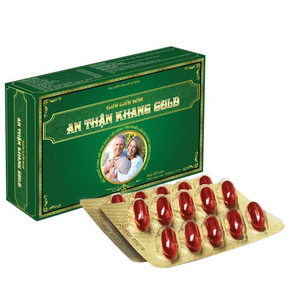 Viên tiểu đêm An Thận Khang Gold hộp 20 viên