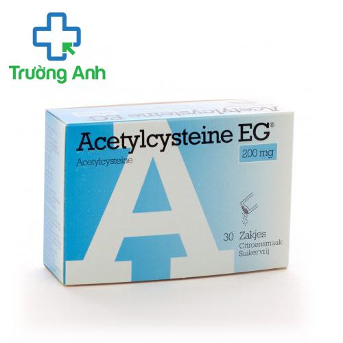 Thuốc long đờm Acetylcystein EG 200mg hộp 30 gói