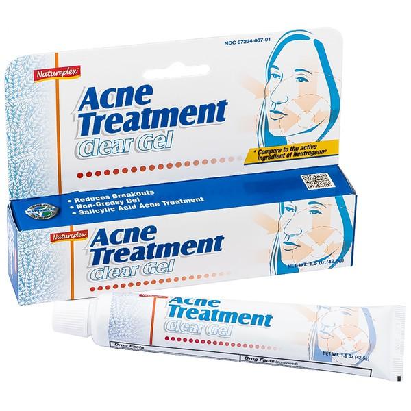Gel ngừa mụn, kháng khuẩn  Ance Treatment Clear Gel 42.5g hộp 1 tuýp 42,5g