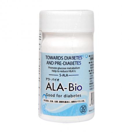 Thực phẩm bảo vệ sức khỏe hỗ trợ điều trị tiểu đường ALA – Bio lọ 30 viên
