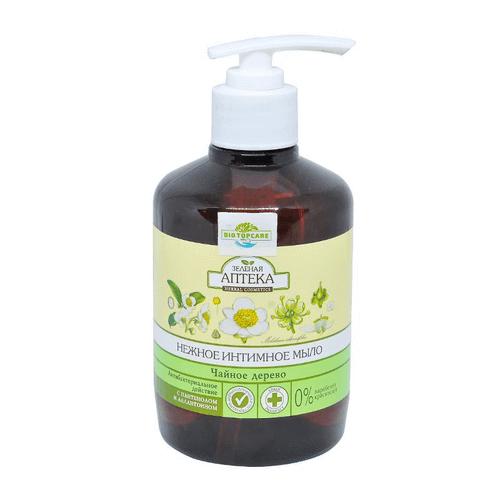 Dung dịch vệ sinh phụ nữ Anteka Green - Mùi hoa Oải hương dành cho da kháng viêm (Nga) chai 370ml