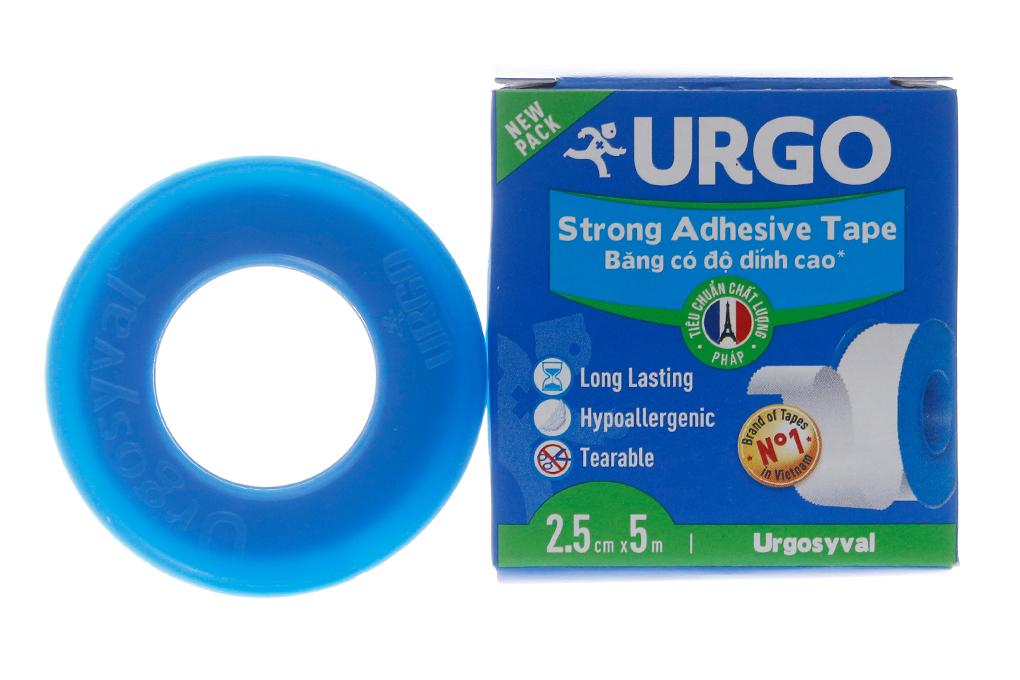 Băng keo lụa Urgo Strong Adhesive Tape 2.5cm x 5m