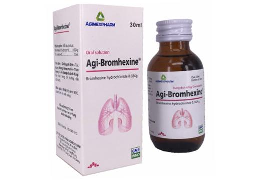 Dung dịch uống Agi - Bromhexine chai 30ml