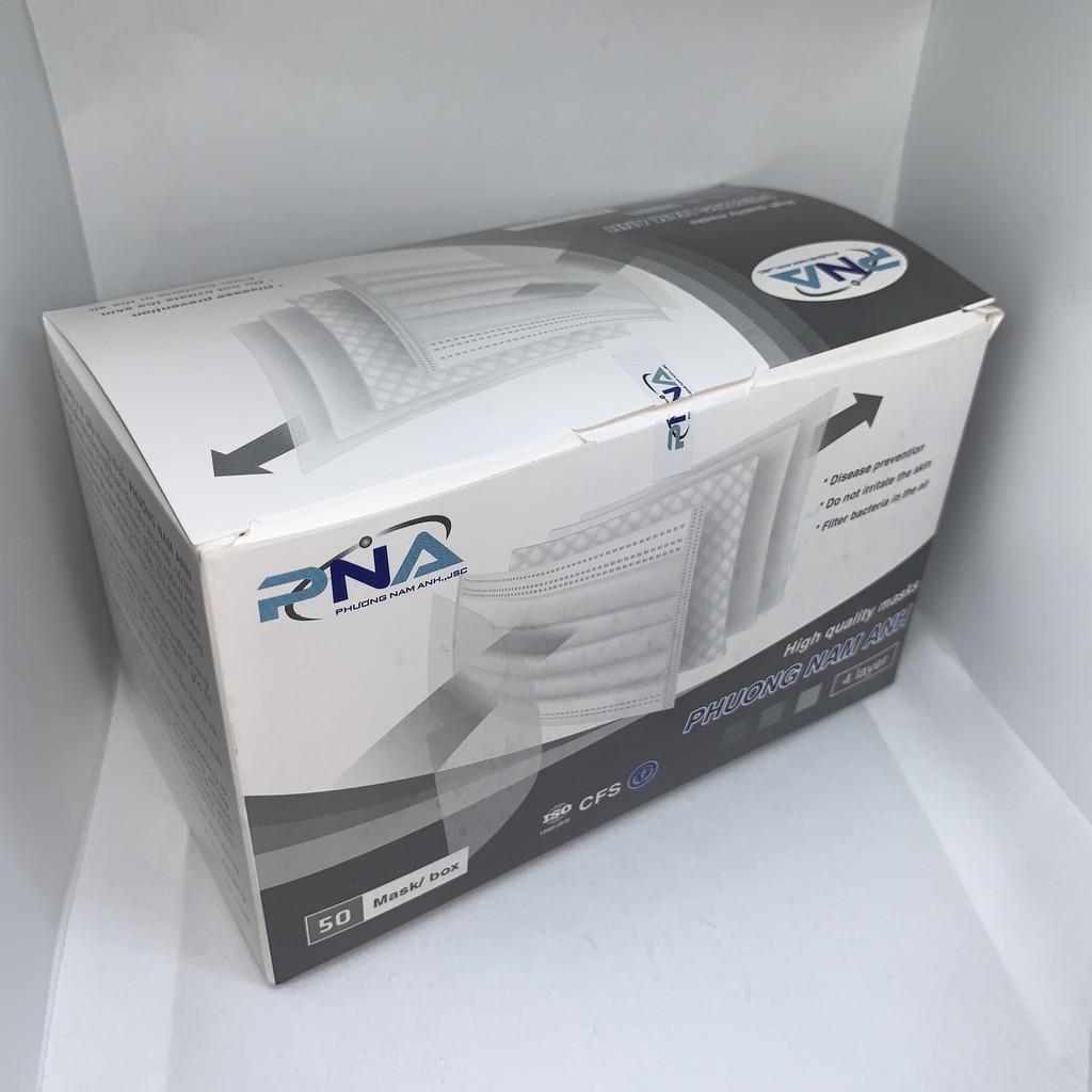 Khẩu trang y tế PHƯƠNG NAM ANH (màu xám) hộp 50 cái