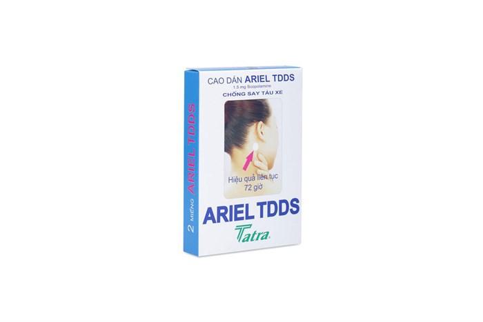 Cao dán chống say xe Ariel TDDS Tatra hộp 2 miếng