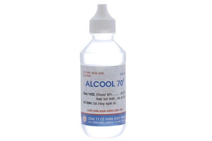 Alcool 70 OPC chai 60ml
