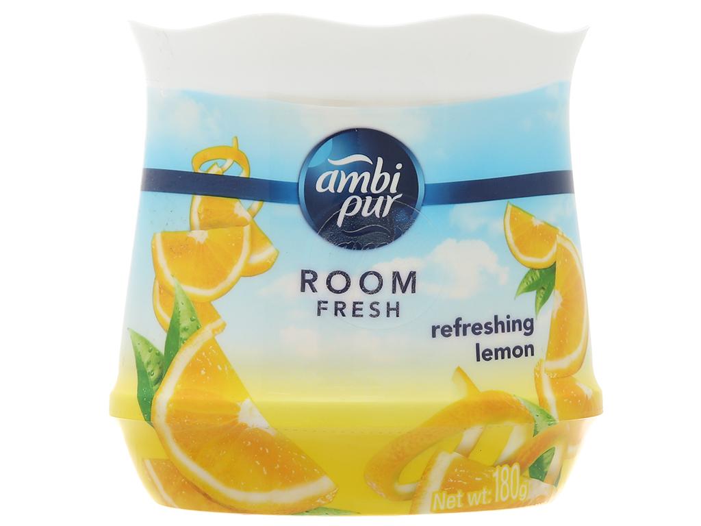 Sáp thơm Ambi pur Room fresh (hương Chanh) hộp 180g