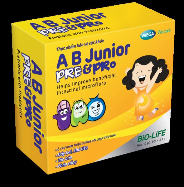AB Junior Pre & Pro  hộp 30 gói x 2.3g
