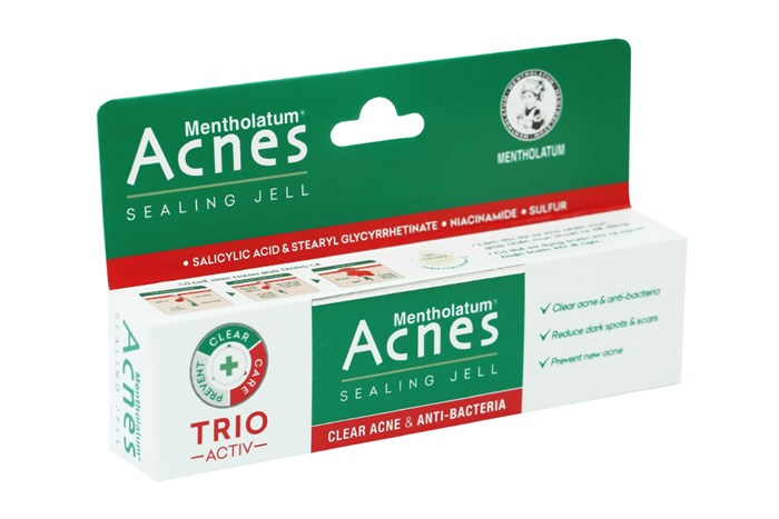 Gel ngừa mụn, kháng khuẩn Acnes Sealing Jell tuýp 18g