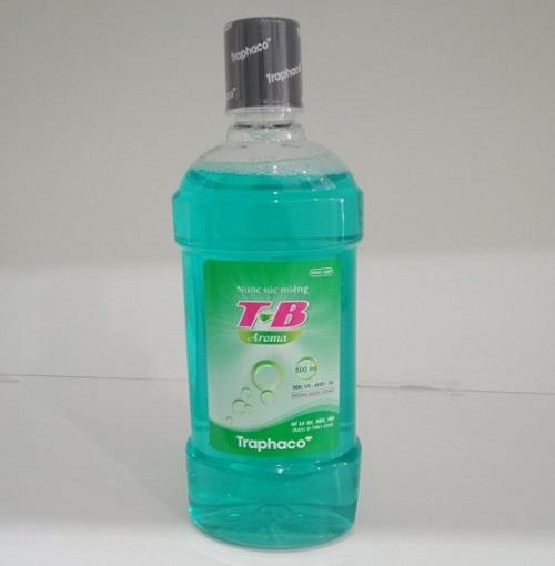 Nước Súc Miệng  TB Aroma (xanh lá) chai 500ml