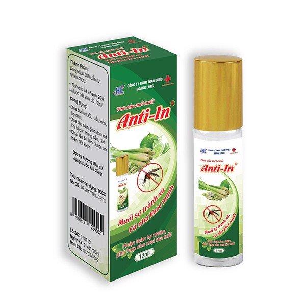 Tinh dầu ANTI-IN  hộp 1 chai 12 ml