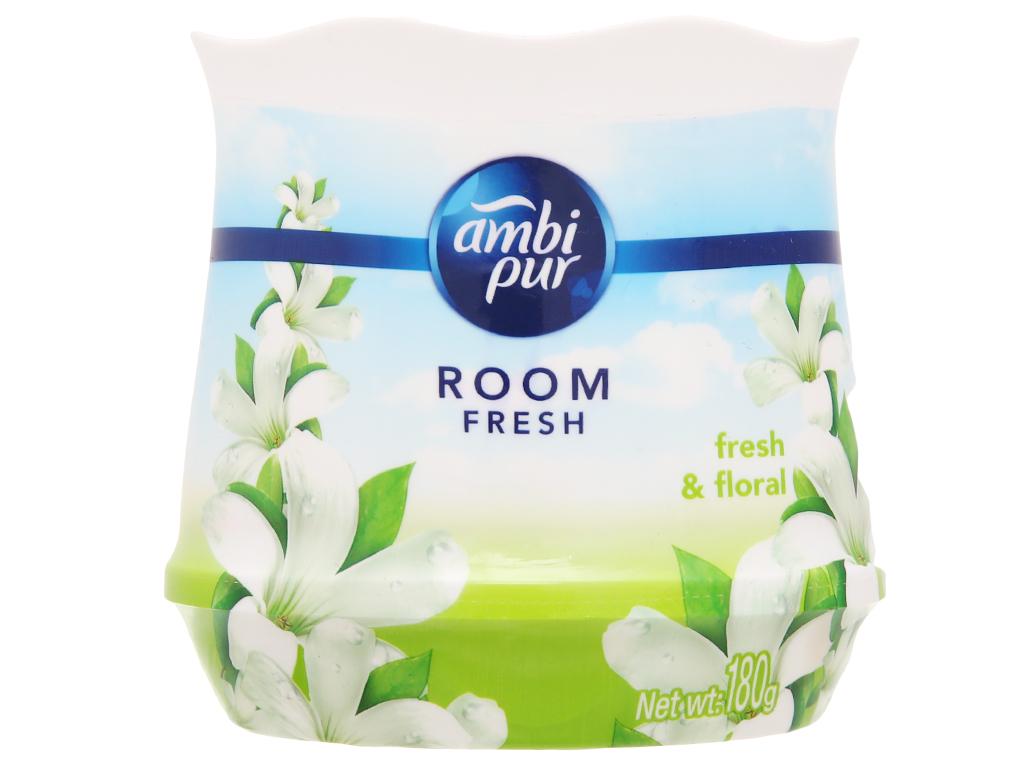 Sáp thơm Ambi pur Room fresh (hương Hoa tươi mát) hộp 180g