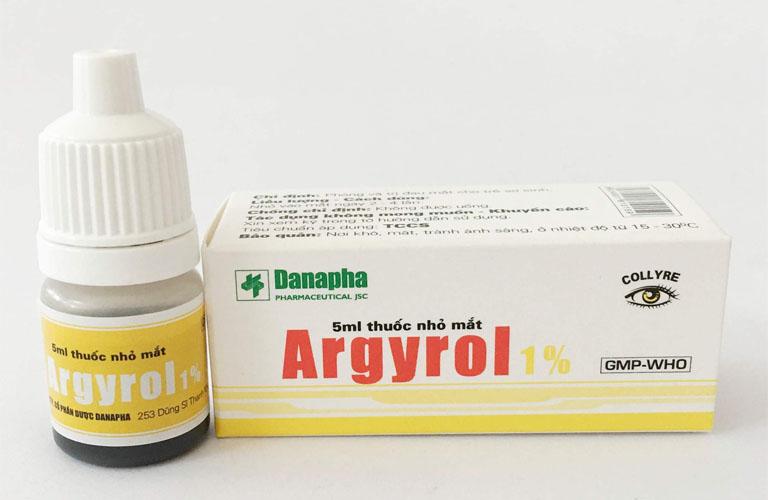 Thuốc nhỏ mắt ARGYROL 1% hộp 1 lọ 5ml