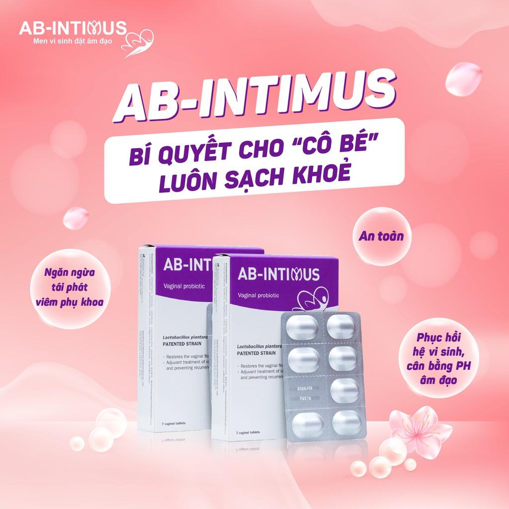 Viên nén đặt âm đạo AB - Intimus hộp 7 viên