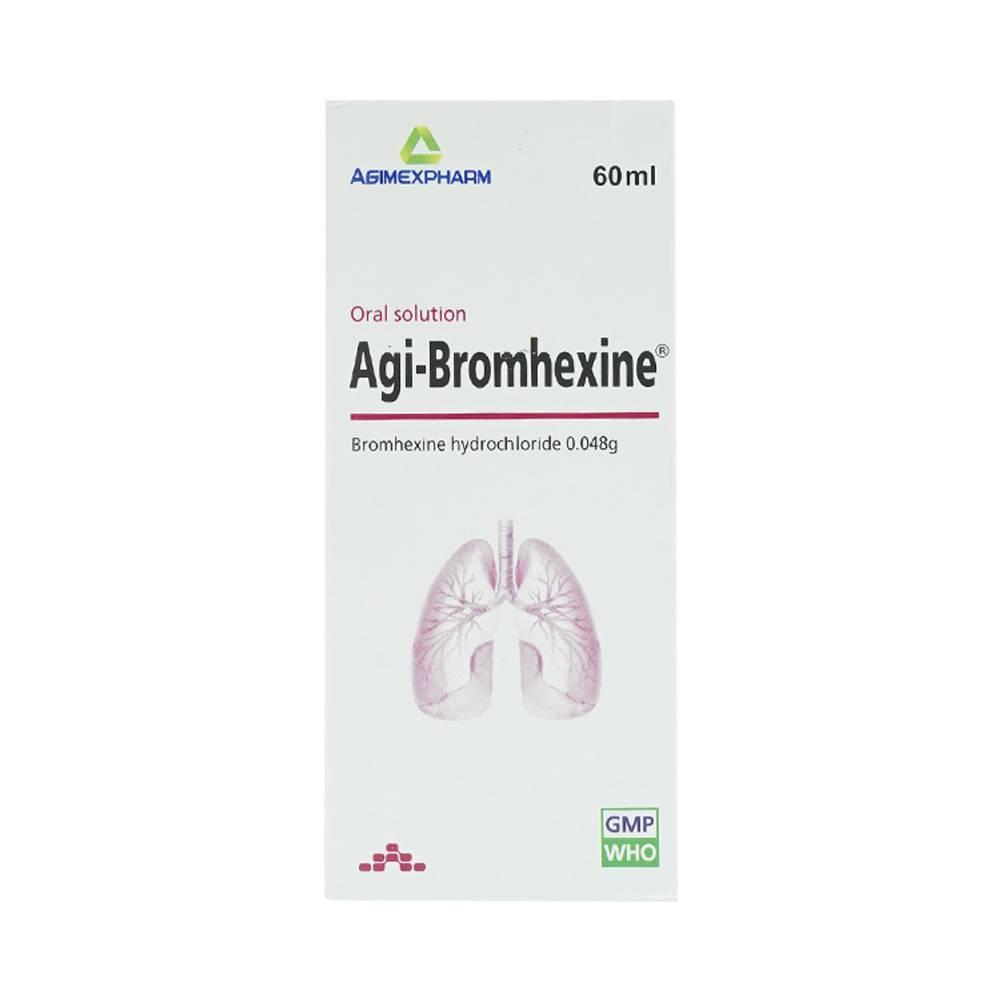 Dung dịch uống Agi - Bromhexine chai 60ml