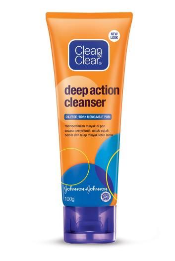 Sữa rửa mặt Clean & Clear Deep Action Cleanser chai 100g