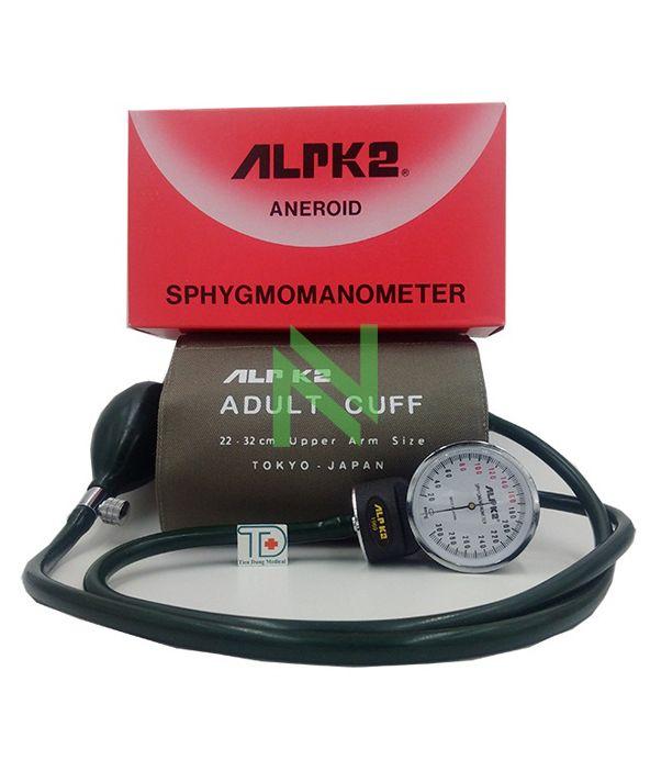Máy đo huyết áp cơ  ALPK2 Nhật Bản hộp 1 cái