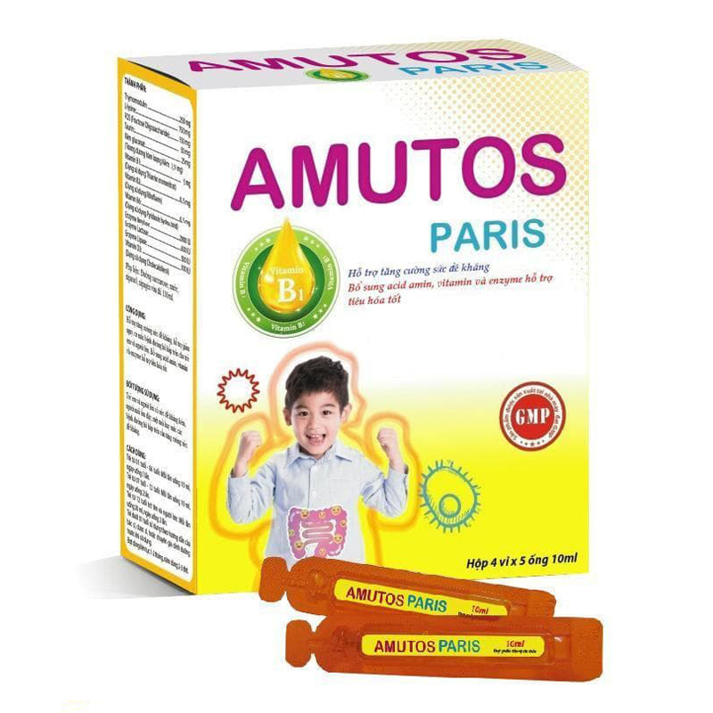Amutos Paris hộp 20 ống