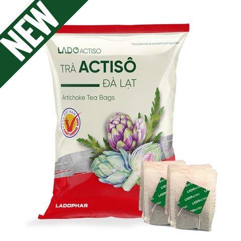 Trà Actiso (LADOPHAR) Gói 100 túi lọc