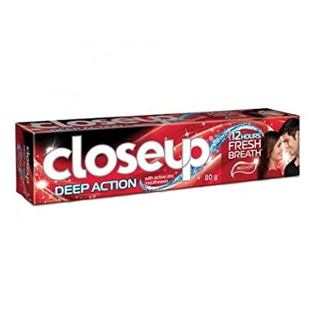 Kem đánh răng CLOSEUP Deep Action RED HOT hộp 1 tuýp 80g