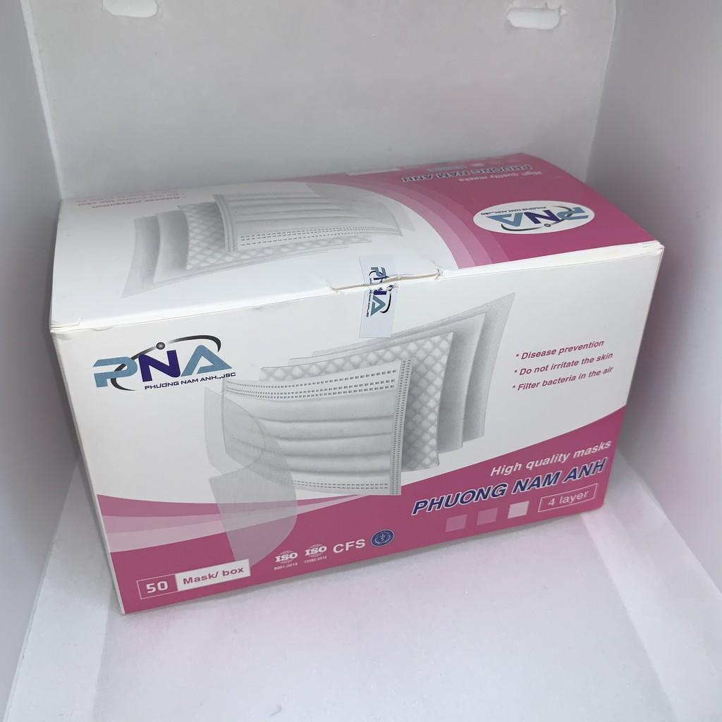 Khẩu trang y tế PHƯƠNG NAM ANH (màu trắng) hộp 50 cái