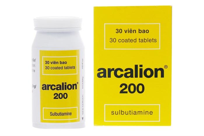 Thuốc trị suy nhược cơ thể Arcalion 200 lọ 30 viên