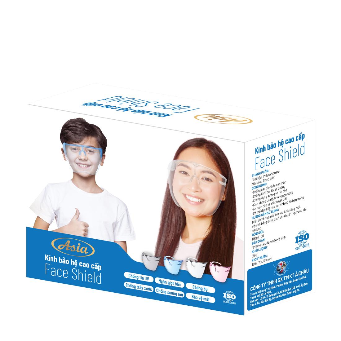 Kính bảo hộ cao cấp Asia Face Shield hộp 1 cái