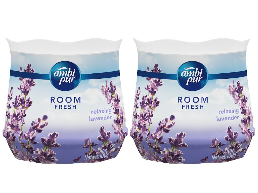 Sáp thơm Ambi pur Room fresh (hương Lavender) hộp 180g