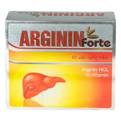 Viên uống hỗ trợ chức năng gan Arginin Forte hộp 60 viên