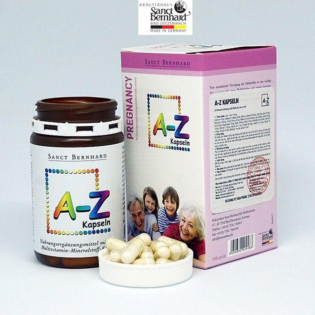 Multivitamin A-Z KAPSELN Hộp 60 viên