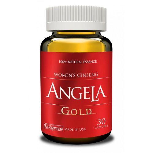 Viên uống cân bằng nội tiết tố nữ, giúp đẹp da Sâm Angela Gold hộp 1 lọ 30 viên