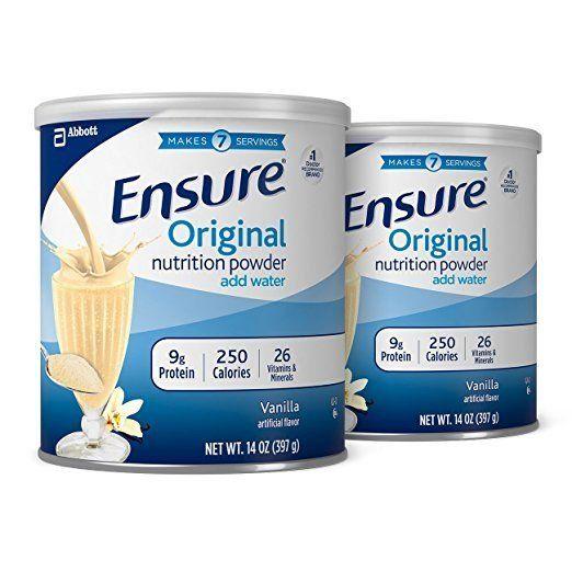 Sữa bột Ensure Original Nutrition Powder Add Water hộp 397g